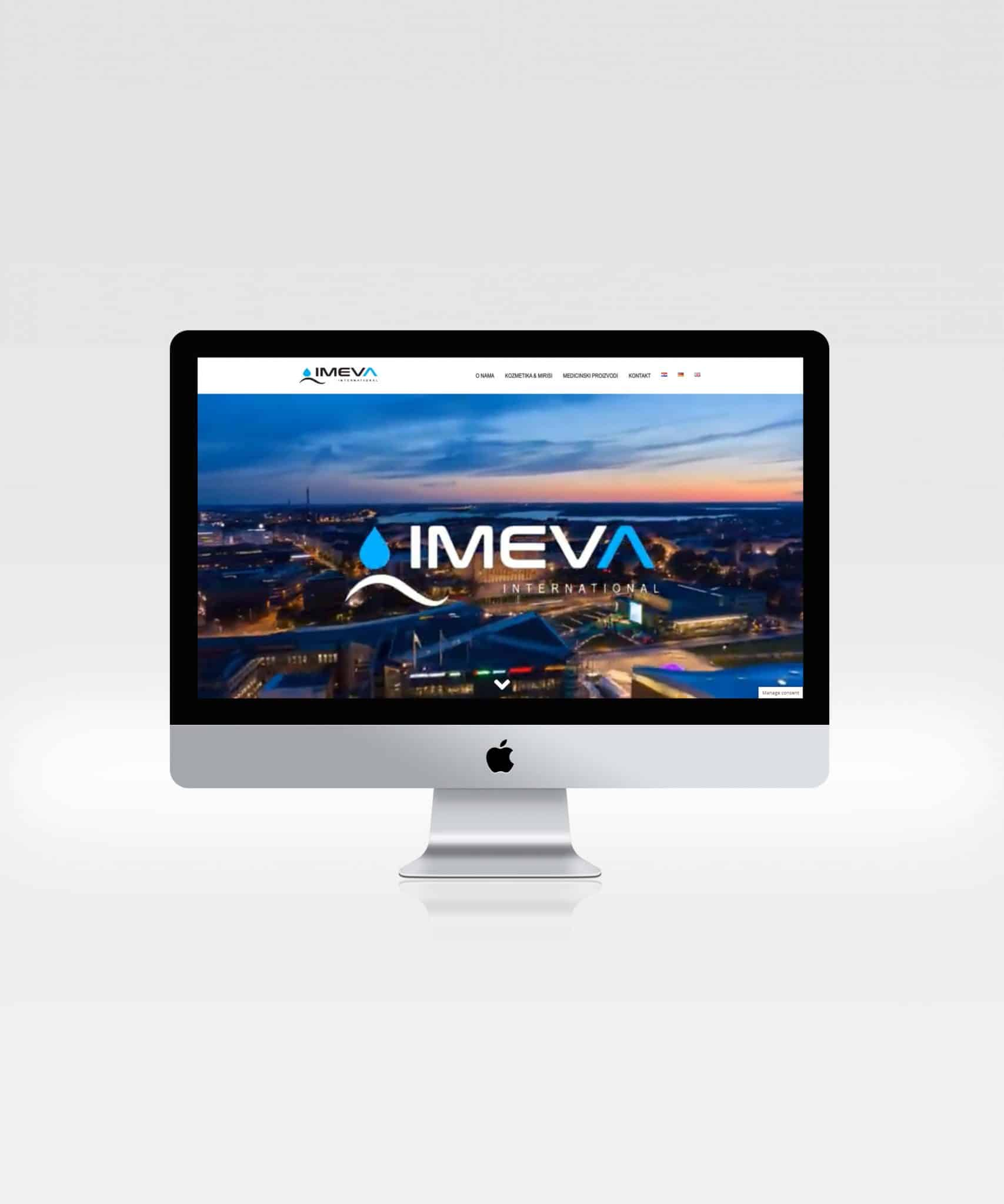 Website - Imeva International